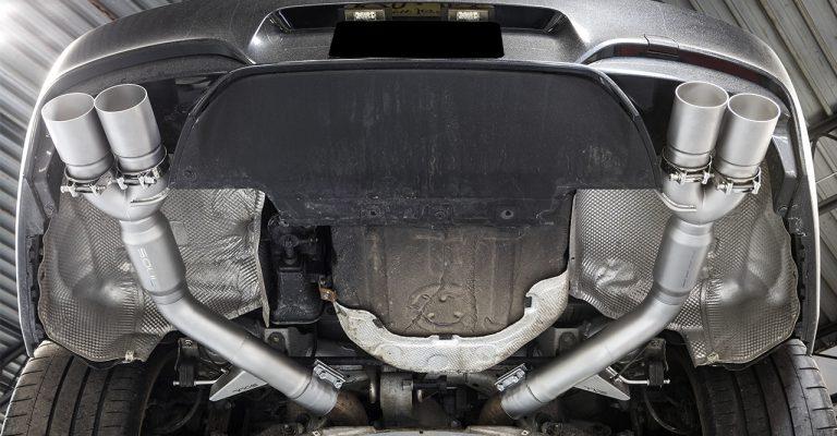 muffler exhaust